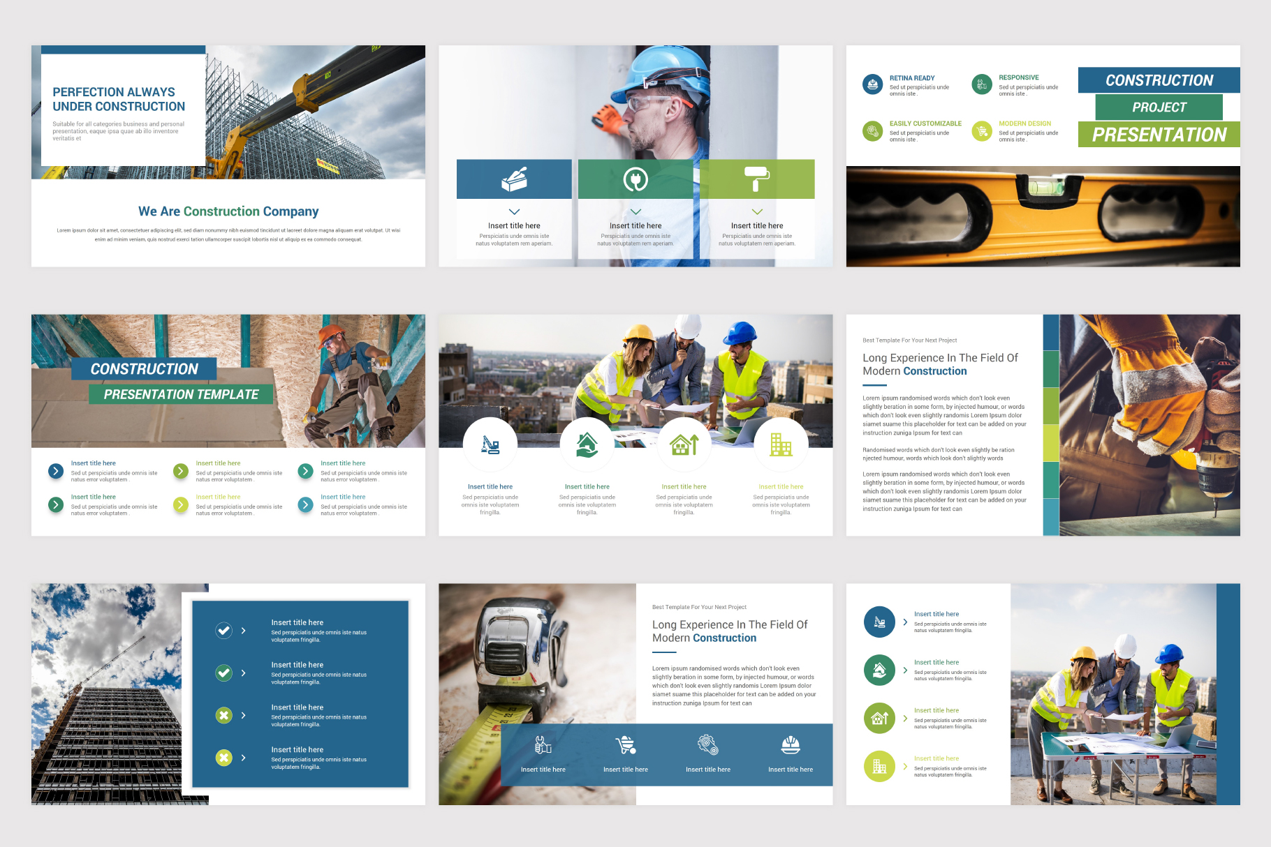 Construction Keynote Template example image 8