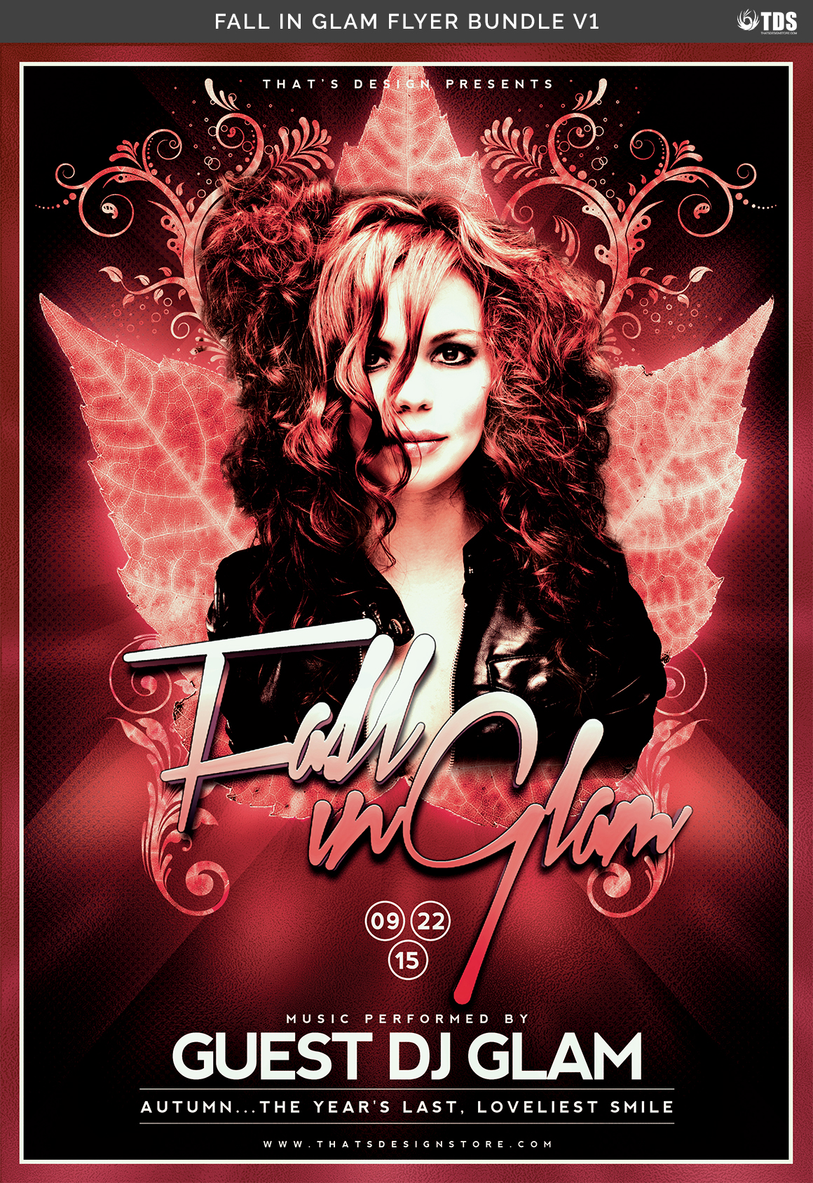 Fall in Glam Flyer Bundle V1 example image 11