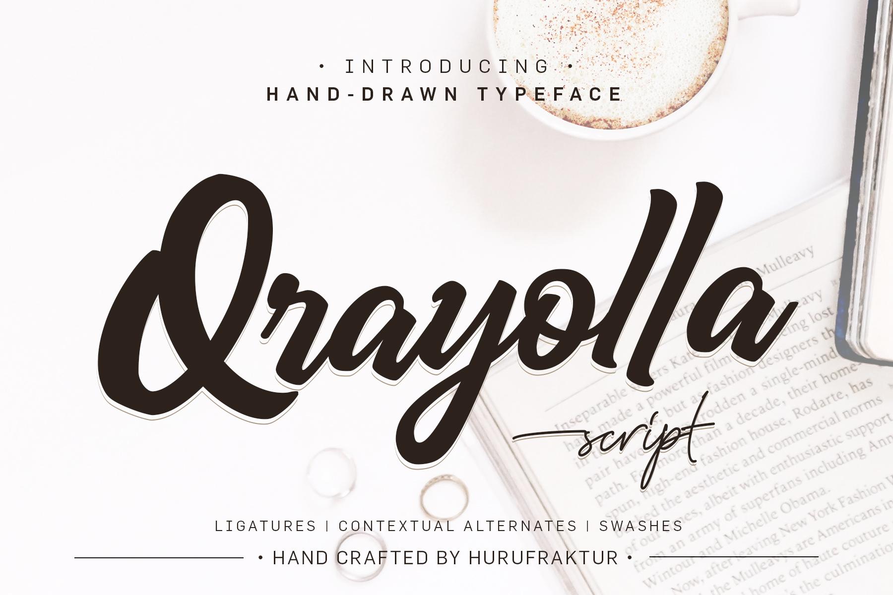 Qrayolla Script example image 1