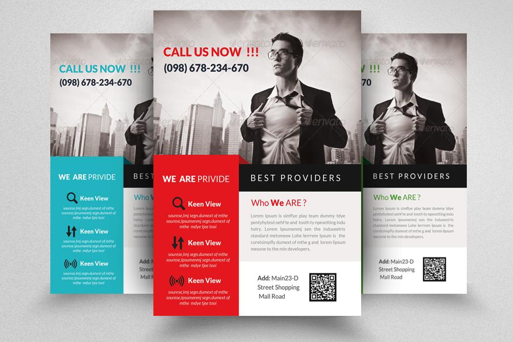 6 Professional Business Flyers Bundle example image 4