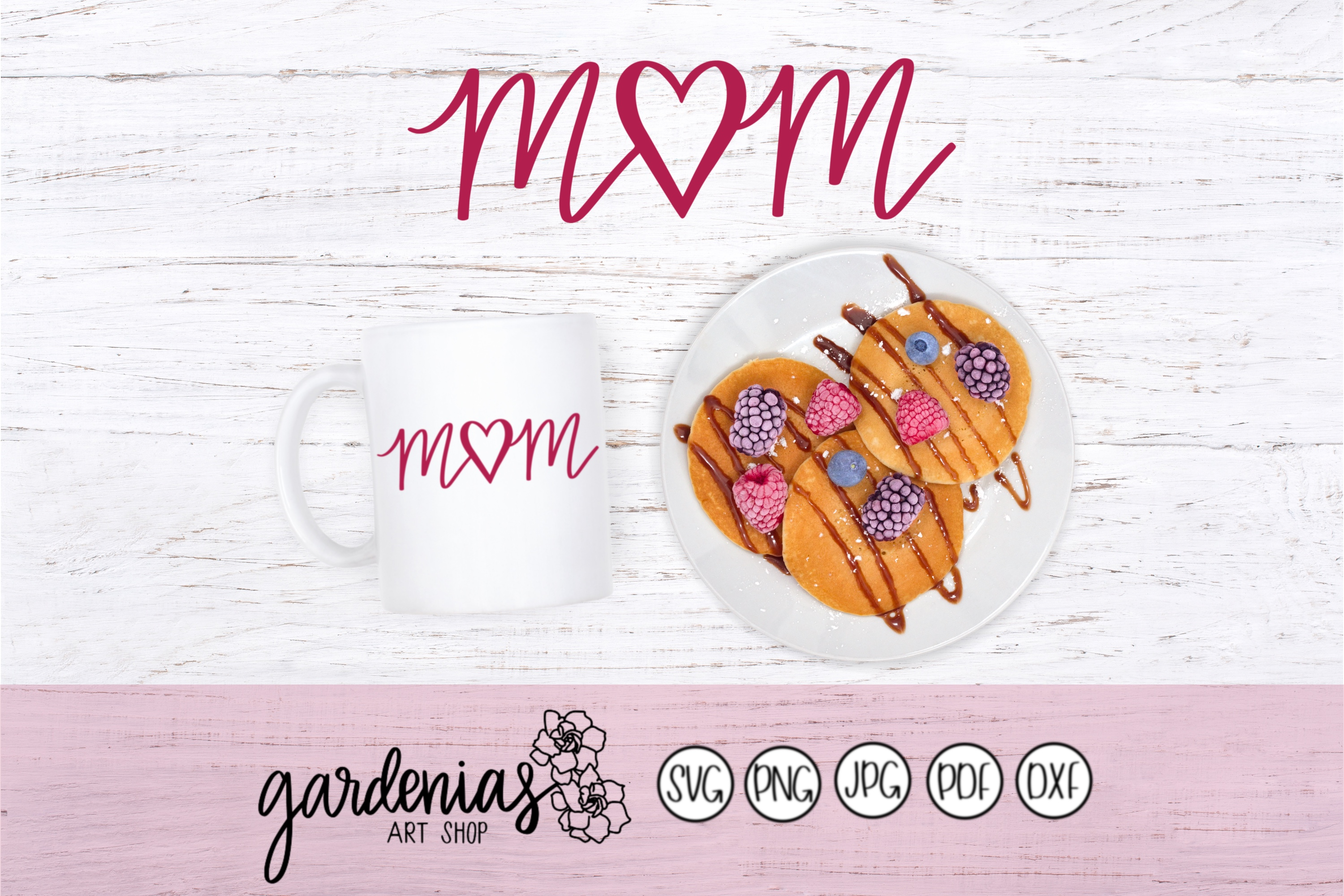 Mom Heart / Mother's Day example image 1