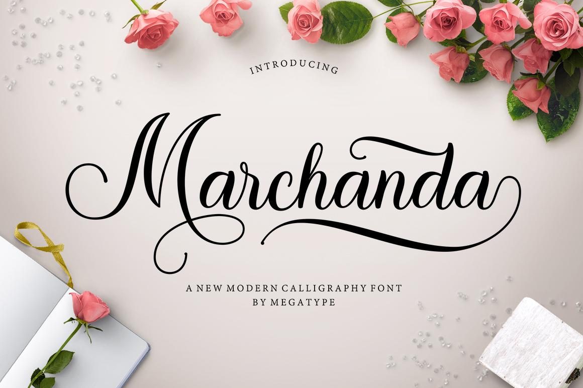Marchanda Script example image 1