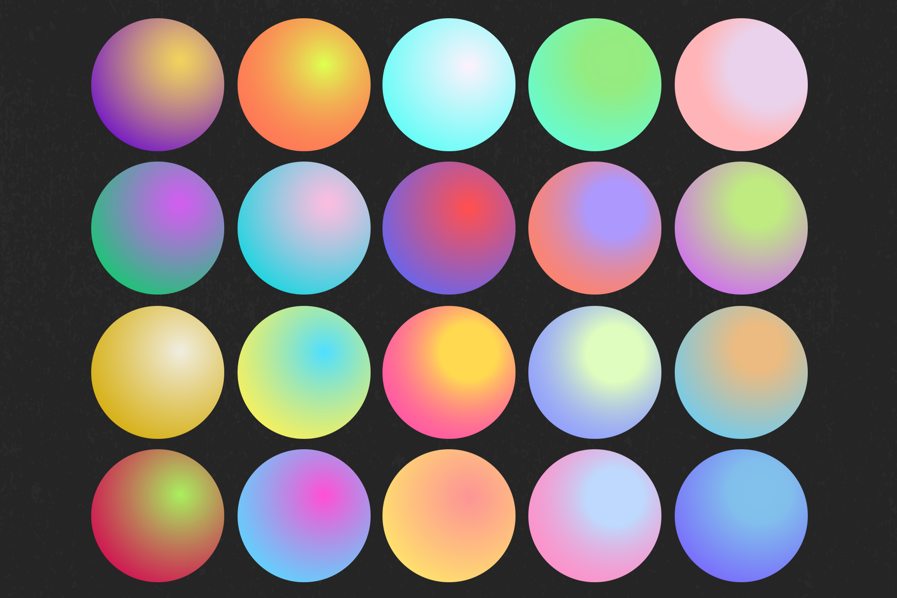 Holographic gradient life example image 7