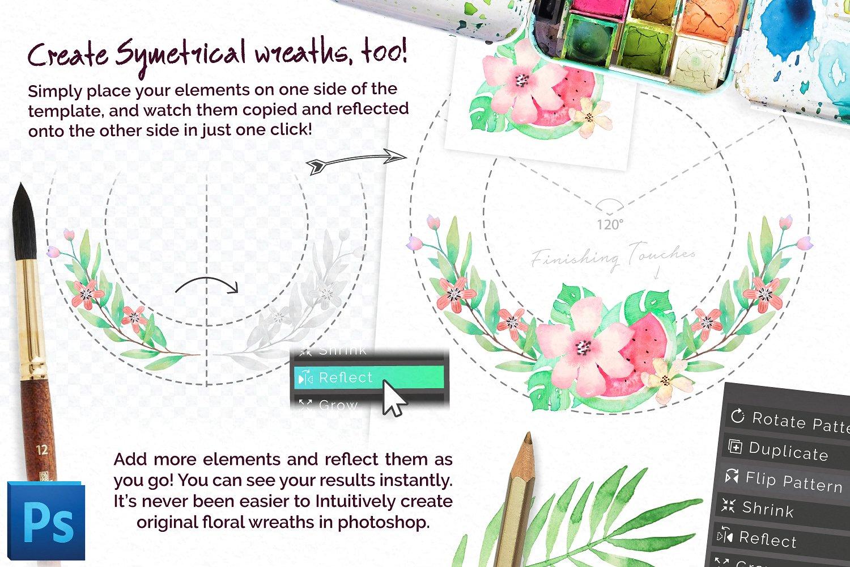 Universal Wreath Creator Pro example image 3