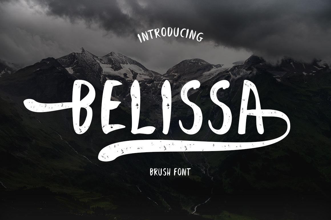 Belissa Brush Font example image 7