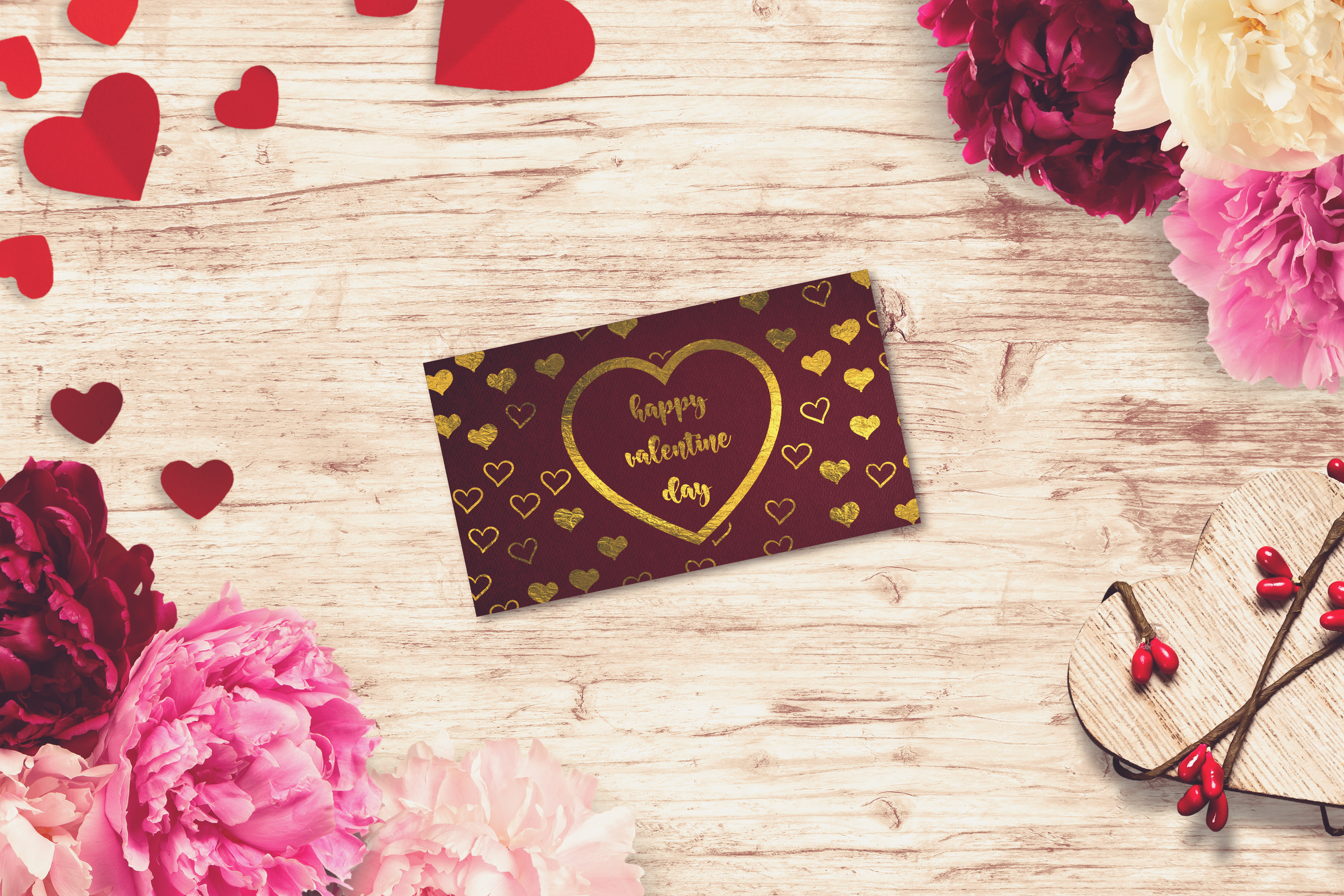 Valentine Card Mock-up #16 example image 1