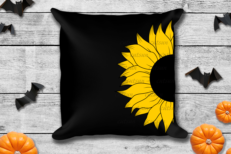 Sunflower SVG bundle   Floral bundle SVG example image 10