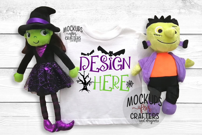 Halloween T-Shirt Mock-Up - Dollarama stuffie example image 1