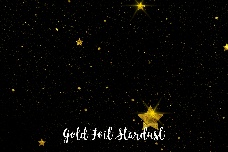Gold Foil Stardust, Transparent PNG example image 1