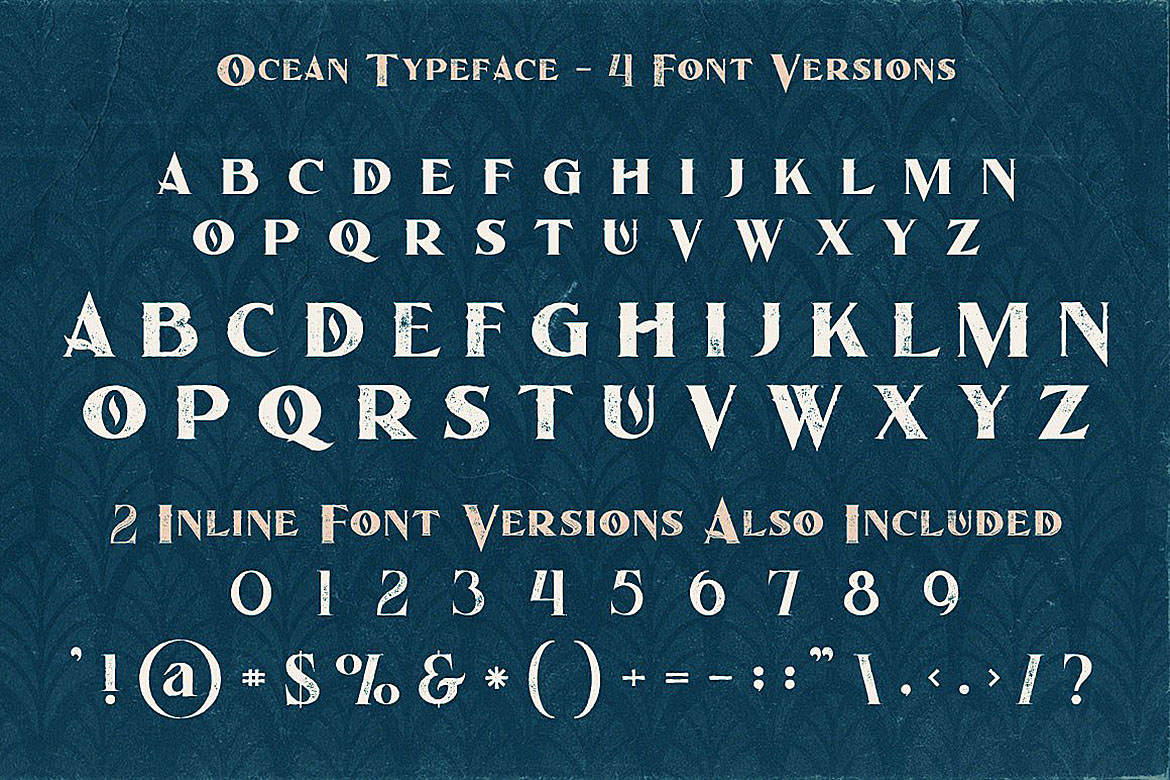 Ocean - Display Font example image 5