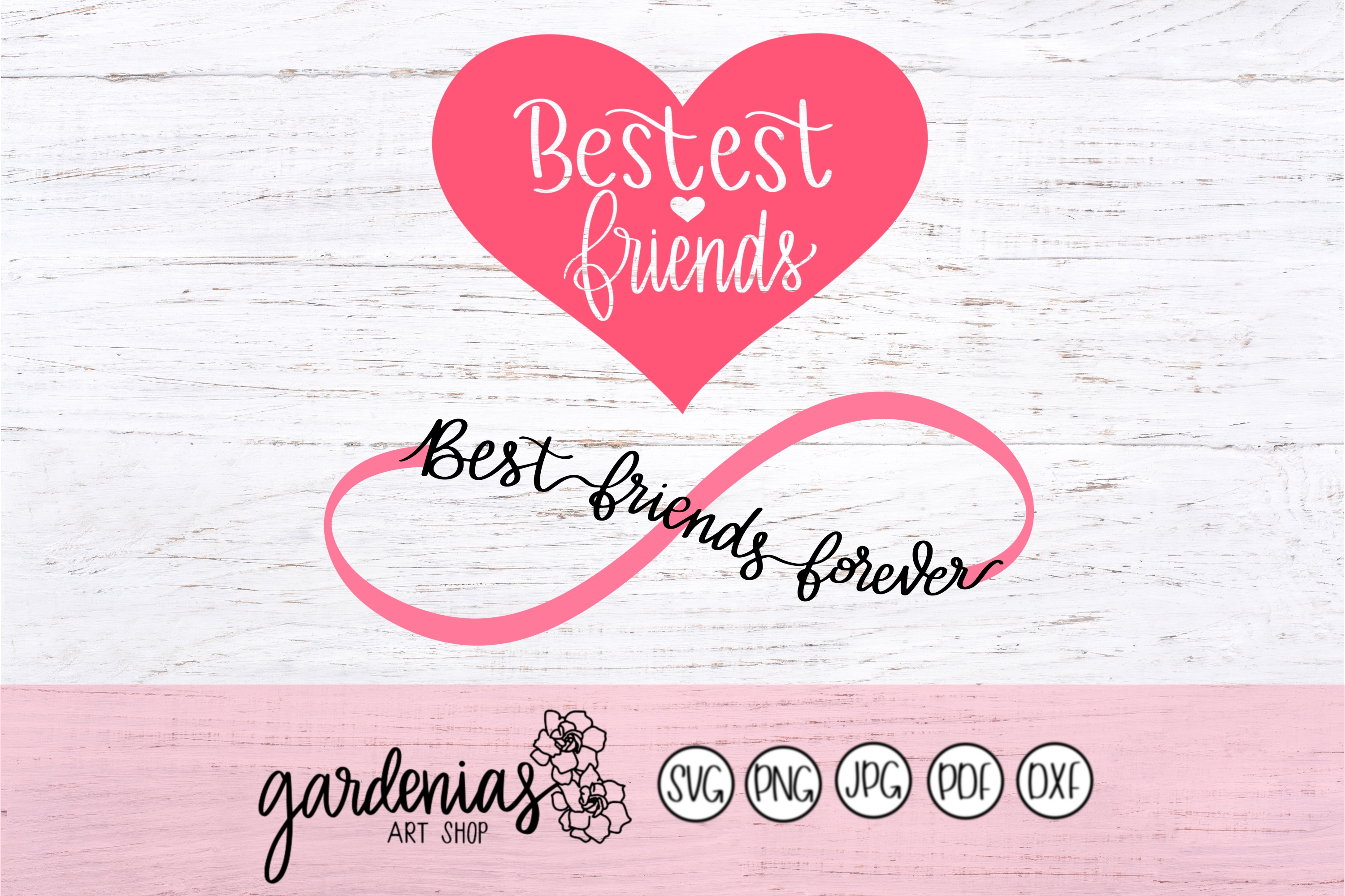 Bestest Friends / Best Friends Forever example image 2