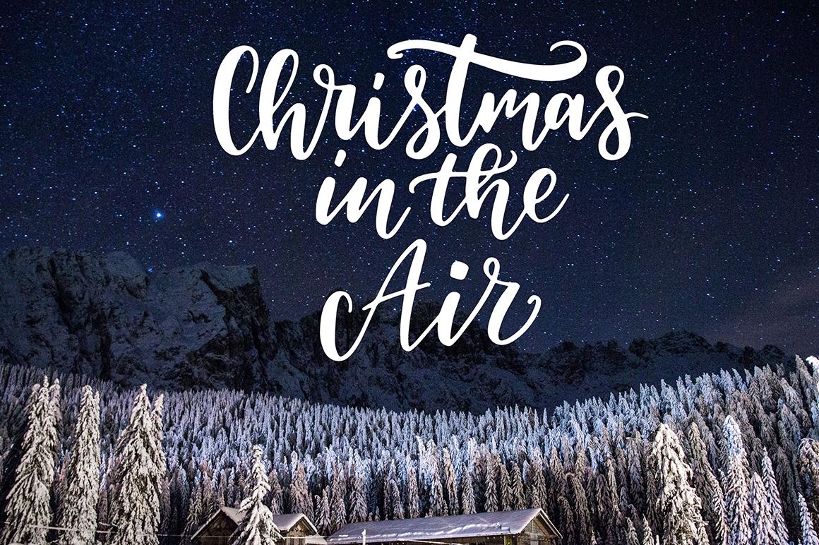 100 Christmas photo overlays example image 6