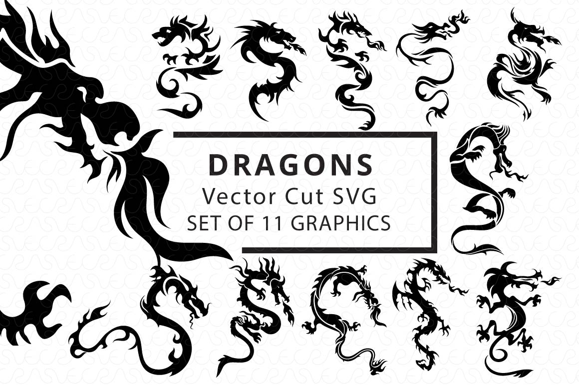 SVG Cutfiles Bundle-1 with 200 Unique Shapes example image 3