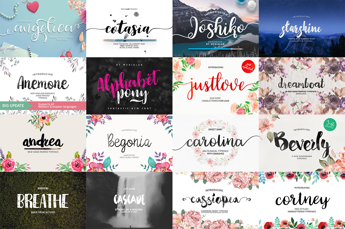 109 in 1 BEST FONT BUNDLE example image 2