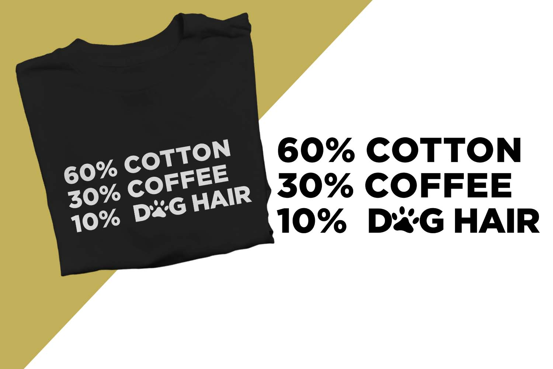 10 Dog Hair Printable example image 1