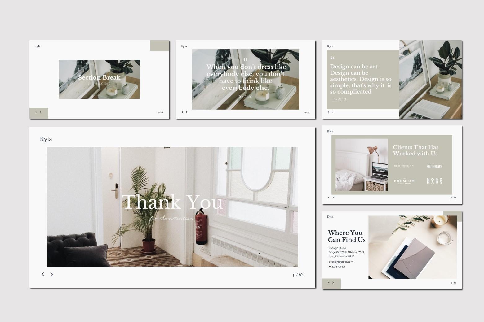 Kyla - Google Slides Template example image 12