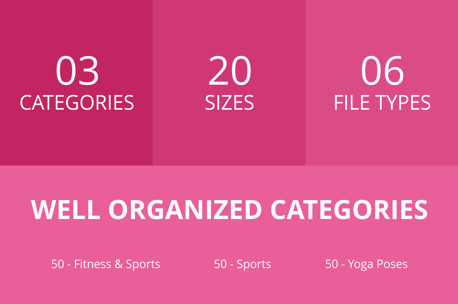 150 Fitness & Sports Glyph Icons example image 2