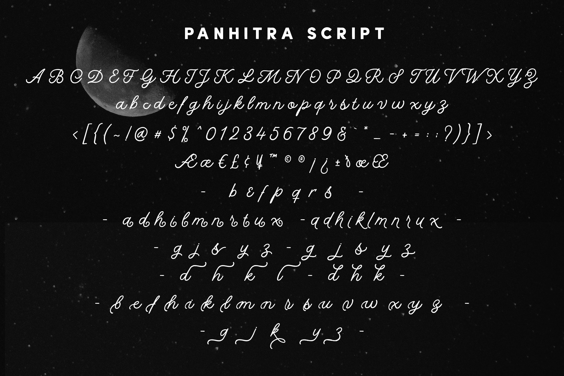 Panhitra Font Family example image 8