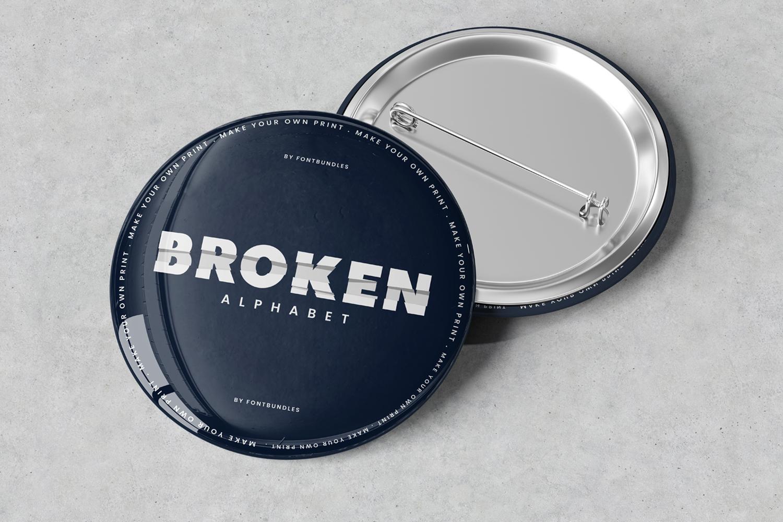 Broken Alphabet example image 2
