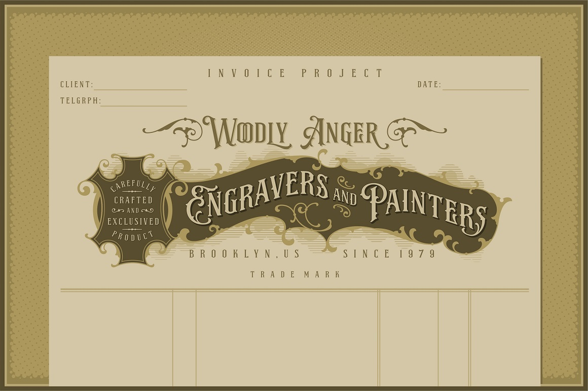 NS Emnhericans Vintage Pairing Fonts example image 8
