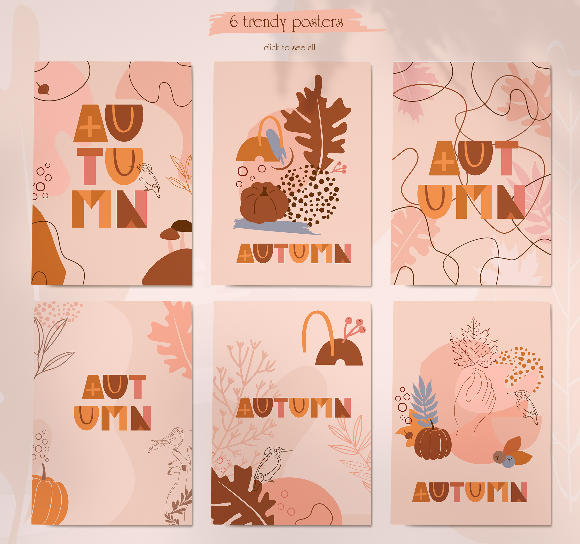 Autumn line collection example image 5