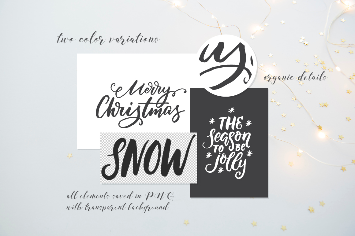 Winter and Christmas overlays example image 7