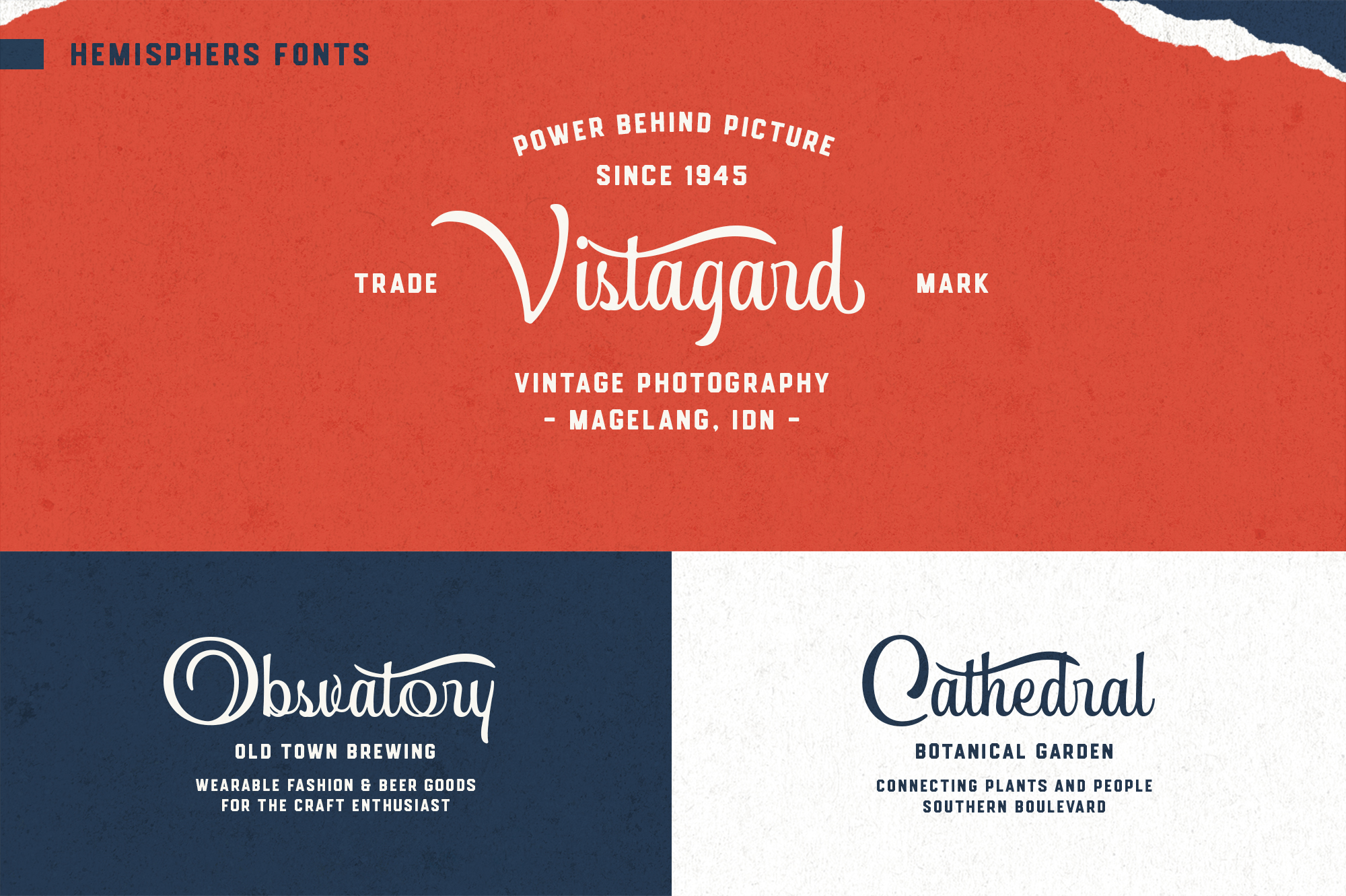 Hemisphers Font Collection example image 8