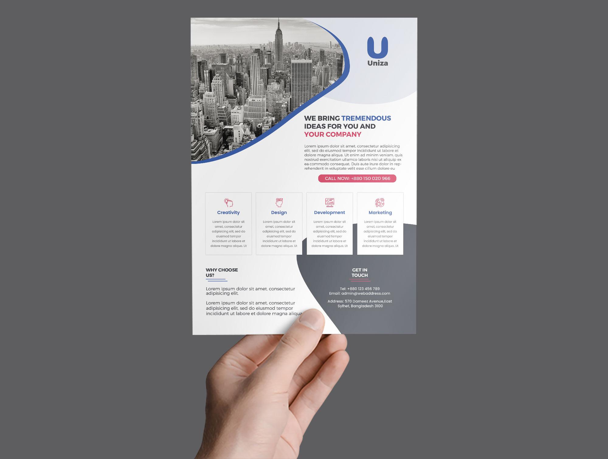 Lumen Corporate Flyer example image 3