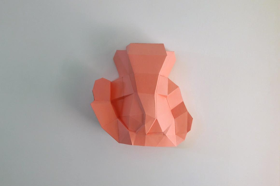 DIY Ganesha Sculpture - 3d papercraft example image 3