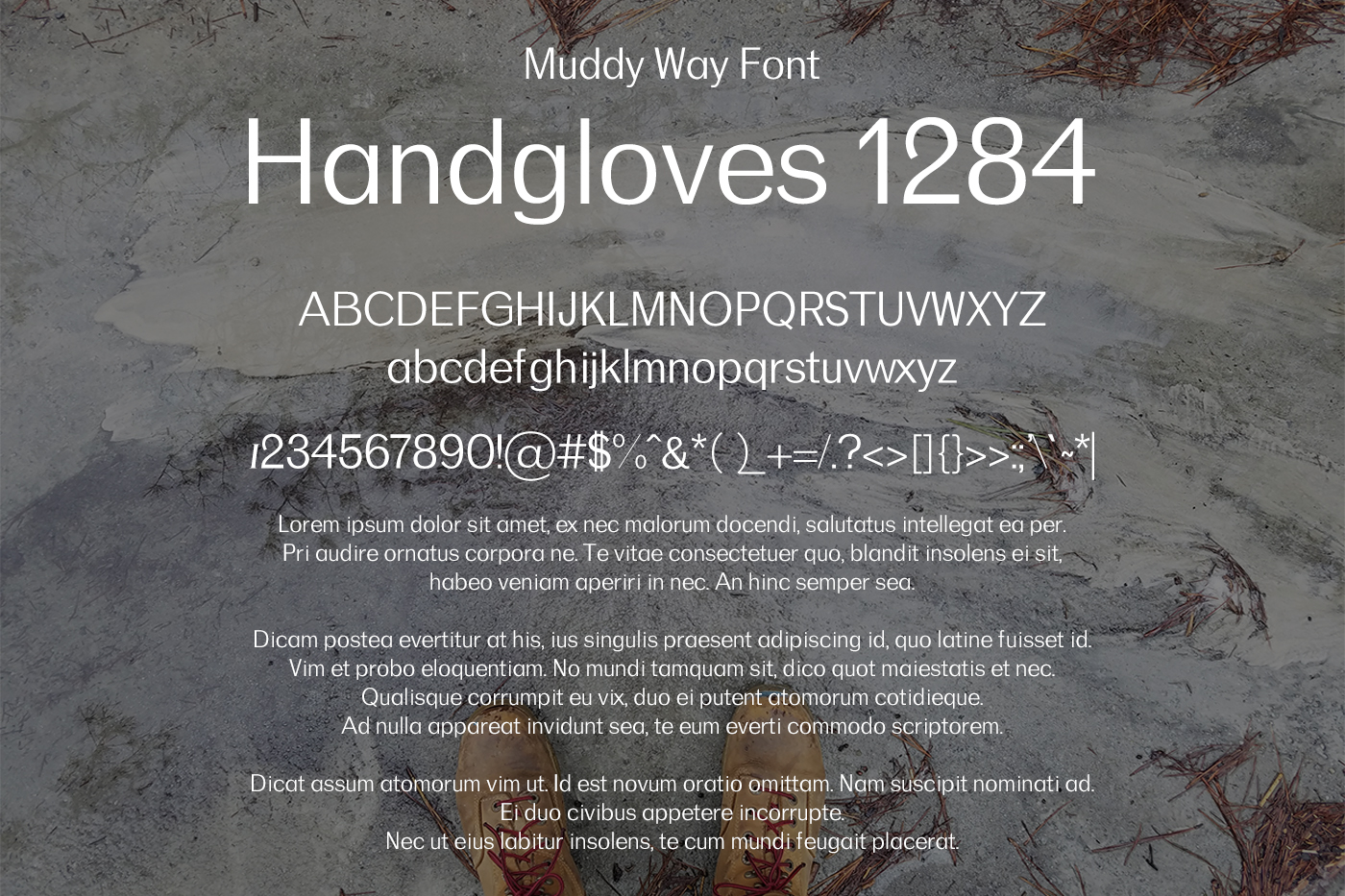 Muddy Way Font example image 2