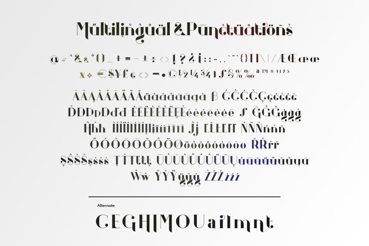 Gigs Beauty Serif Font example image 4