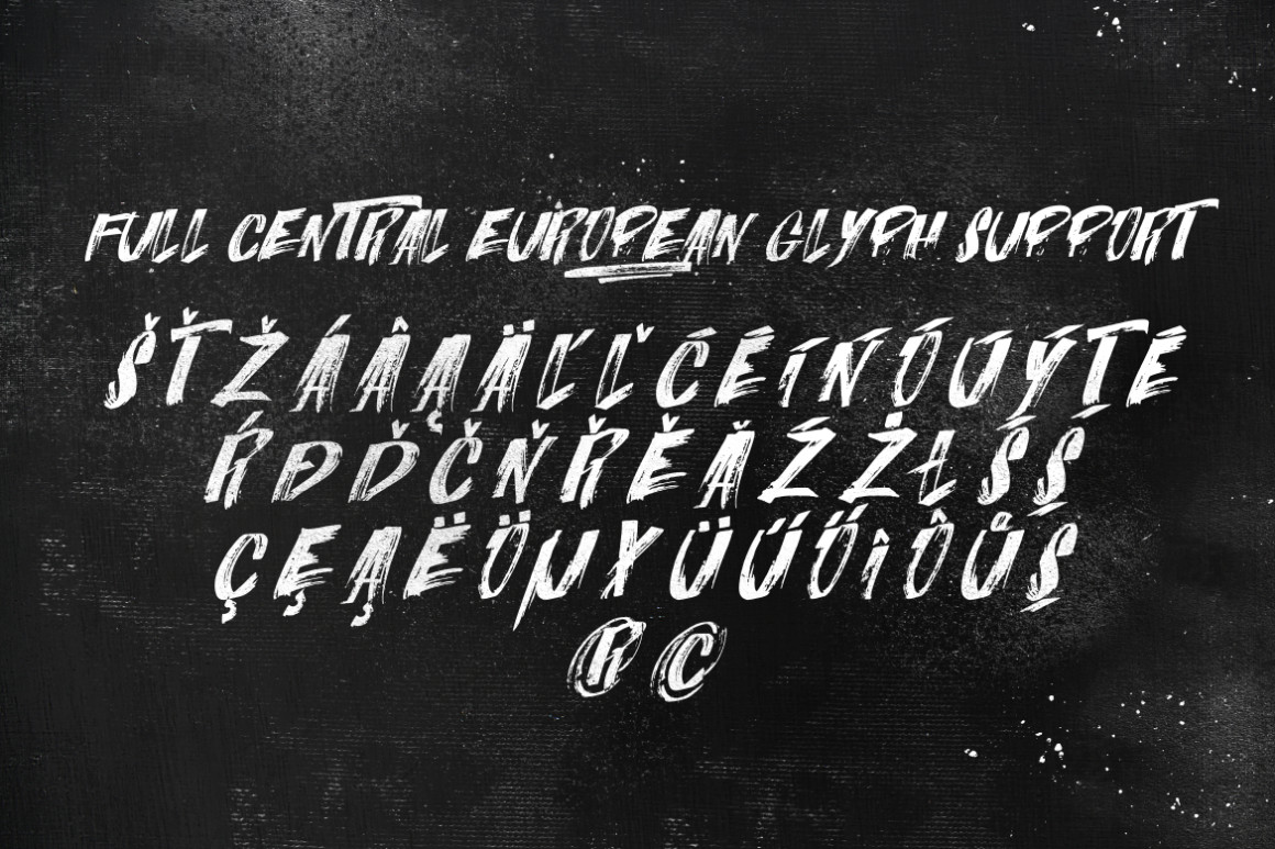 ITALIANO Brush Font +Extras example image 9