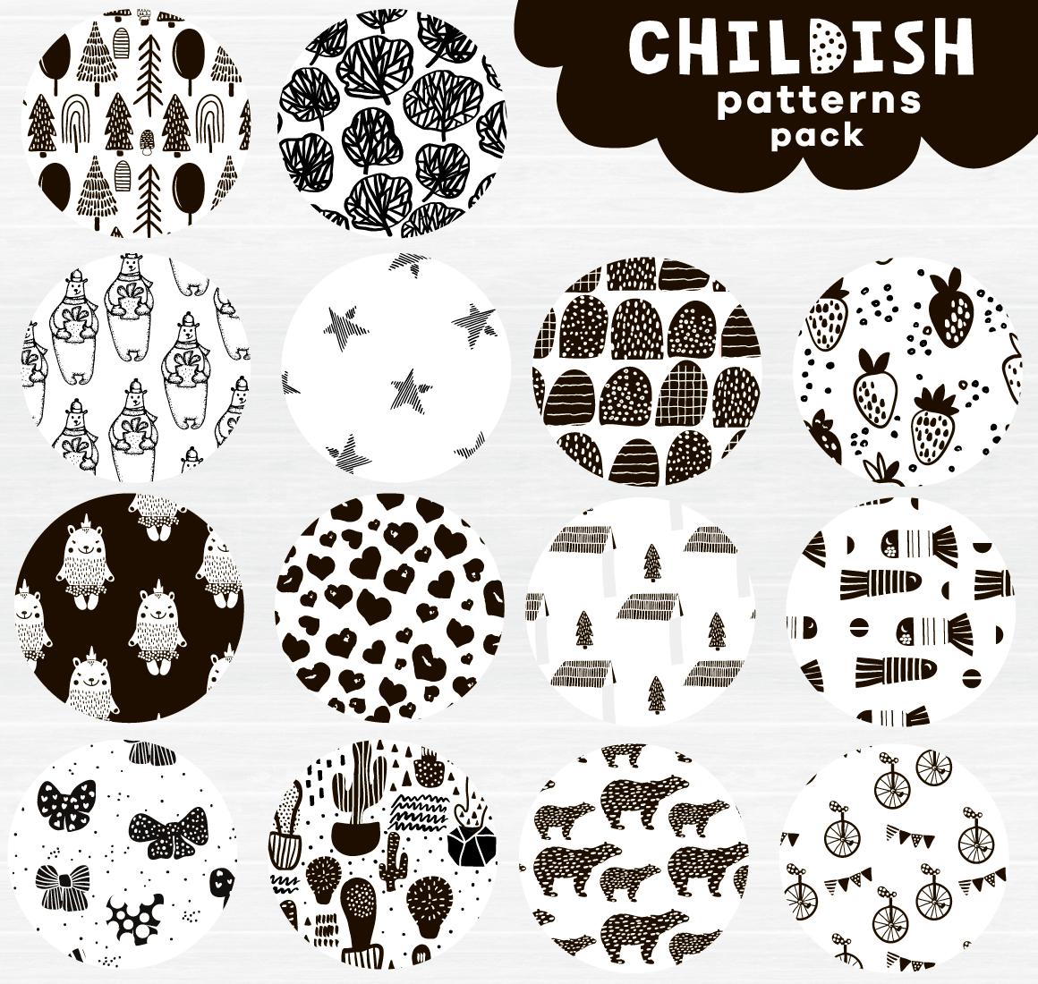 Childish patterns pack example image 2