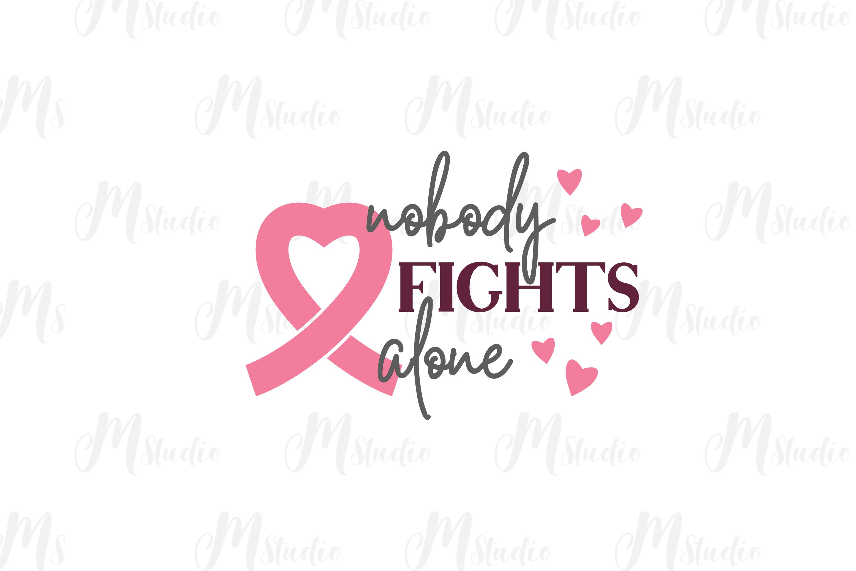Cancer Awareness bundle SVG example image 7