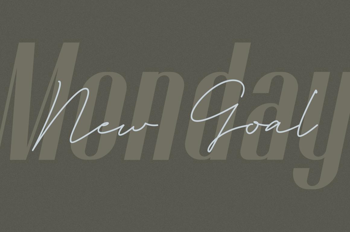 Godhand Athens | Elegant Font Duo example image 4