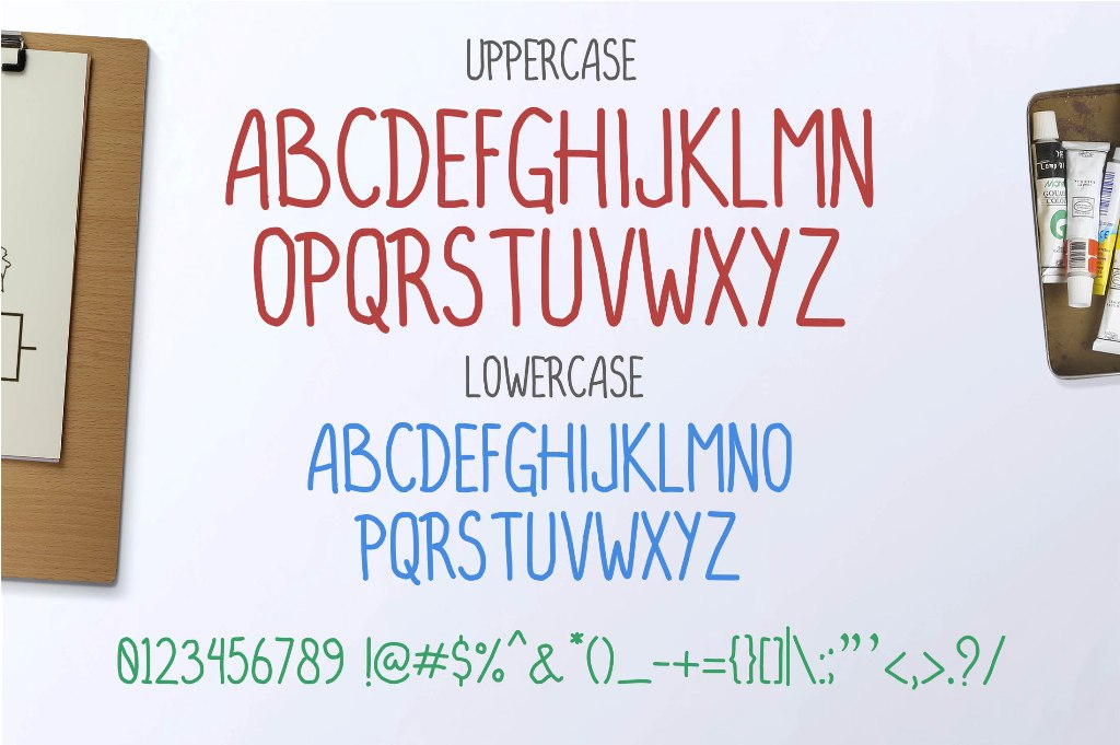 FUNSWEET Typeface Funny example image 2