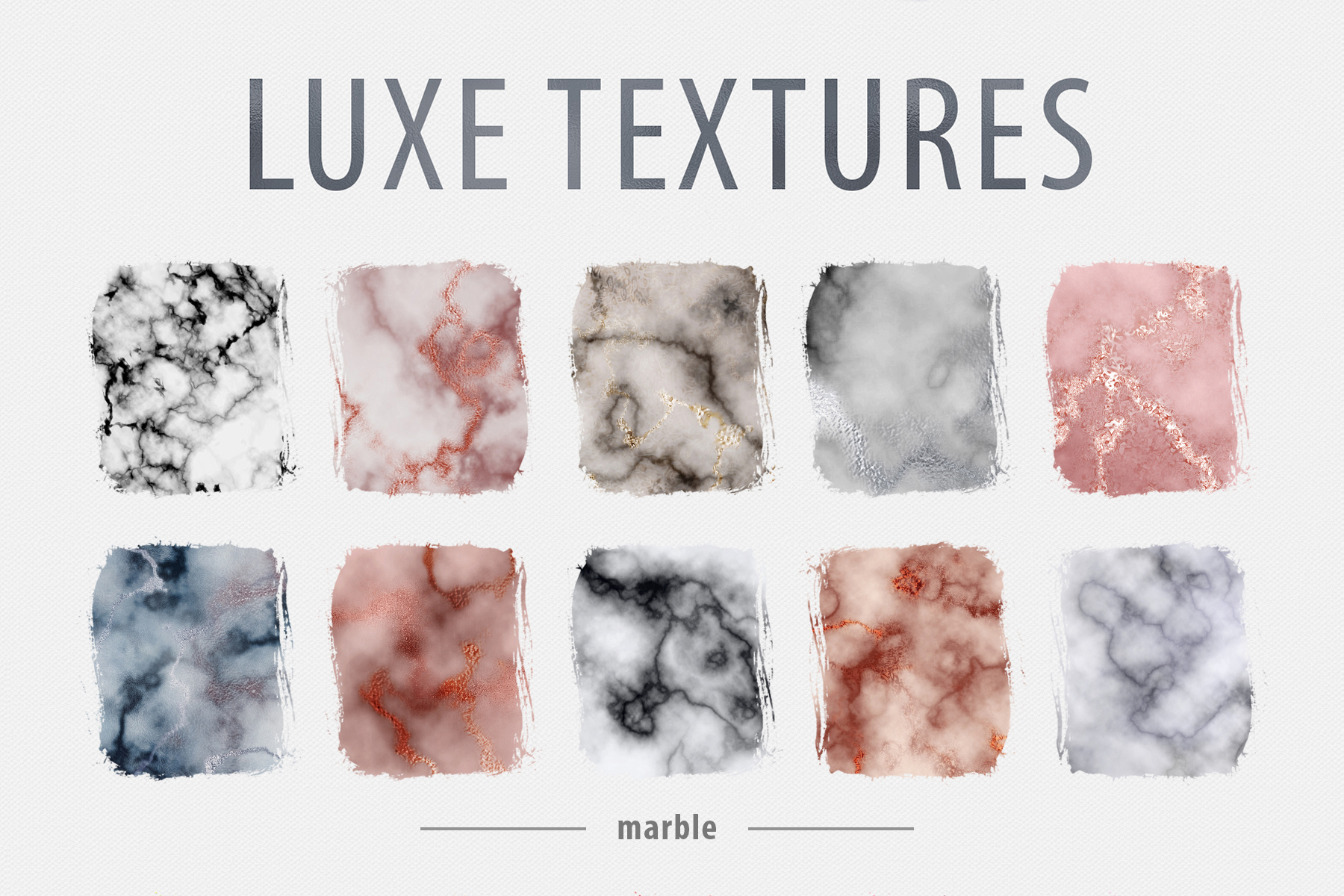 Luxe - 200 Textures and Patterns - Foil, Glitter, Marble example image 14