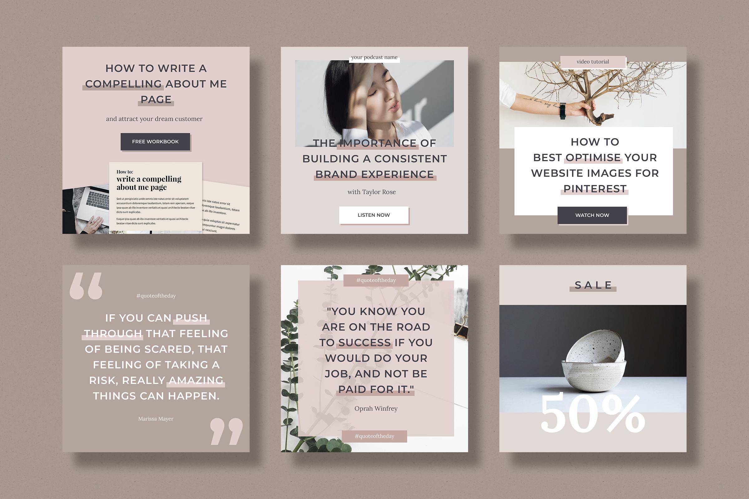 Instagram marketing bundle for bloggers example image 5