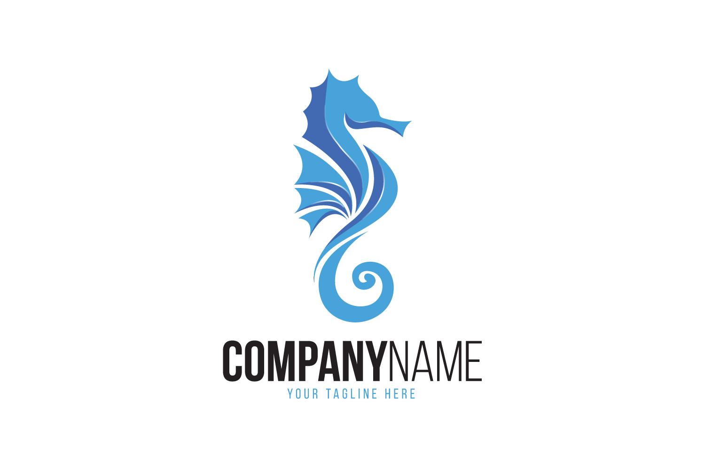 Seahorse Logo example image 1