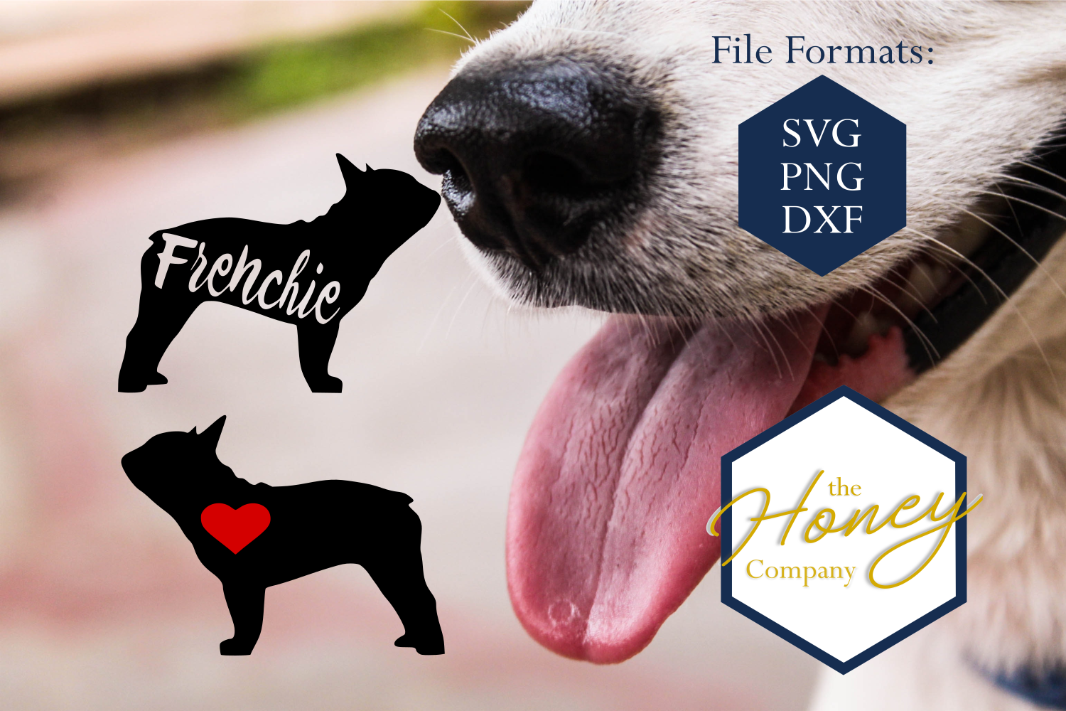 French Bulldog SVG PNG DXF Dog Breed Lover Cut File Clipart example image 2