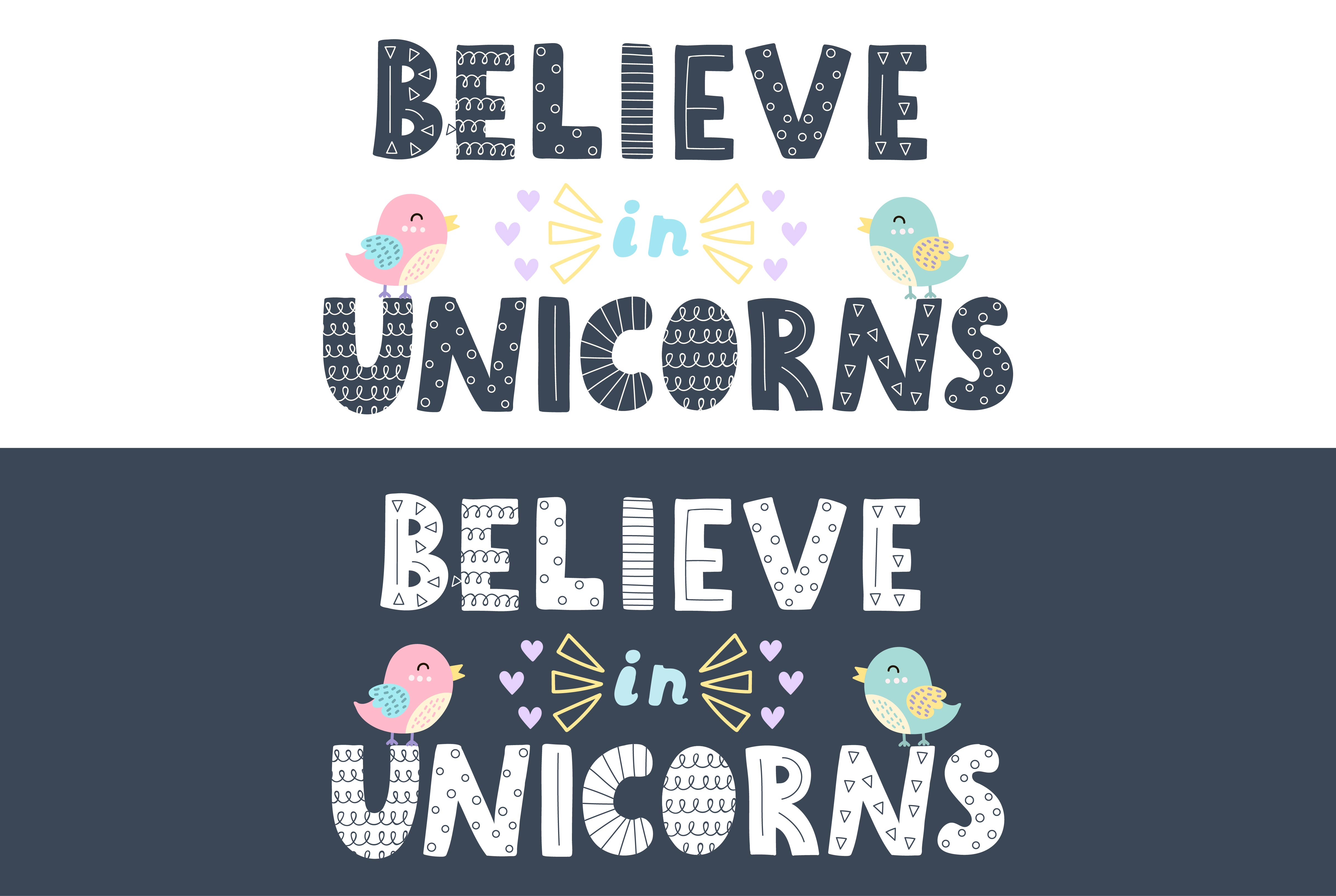 Believe in Unicorns Collection example image 14