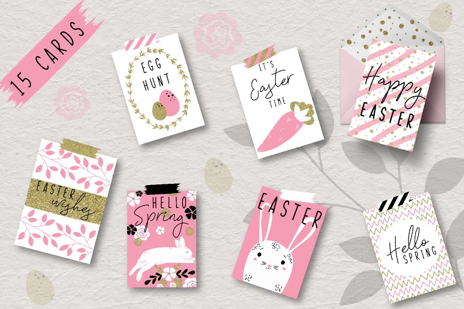 Happy Easter - a pink collection example image 2
