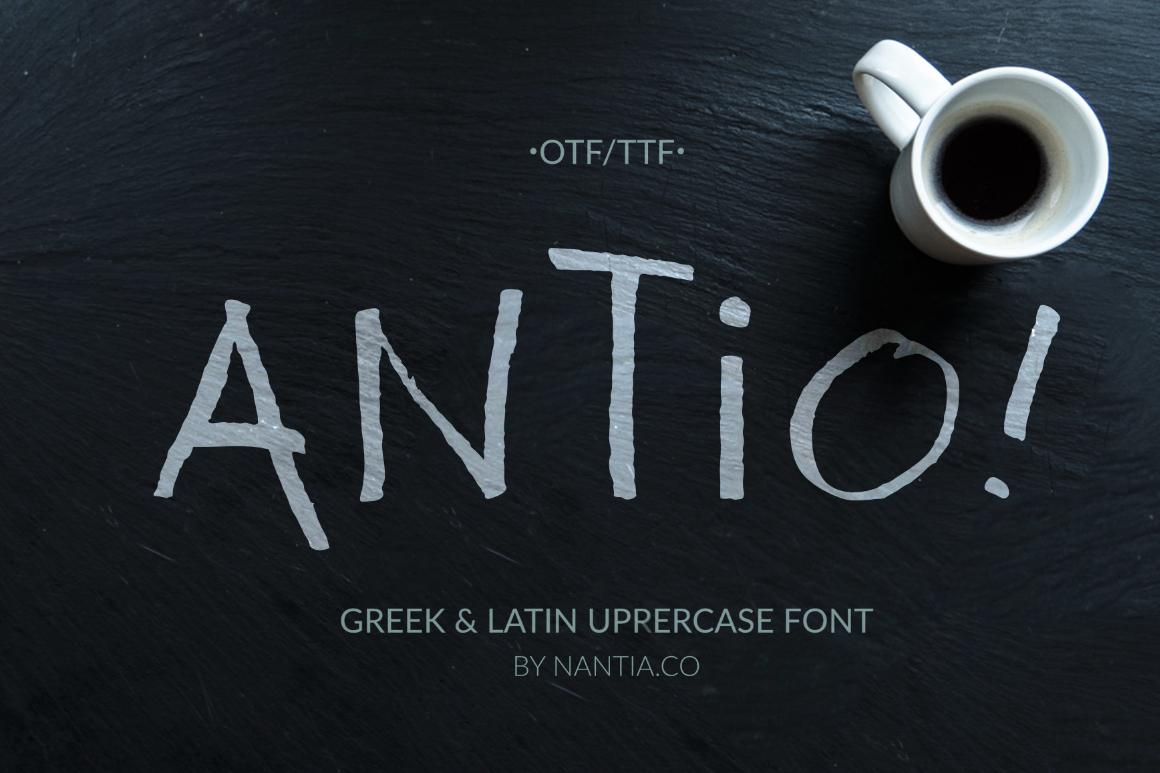 ANTIO! Prokopis   Font Duo example image 1