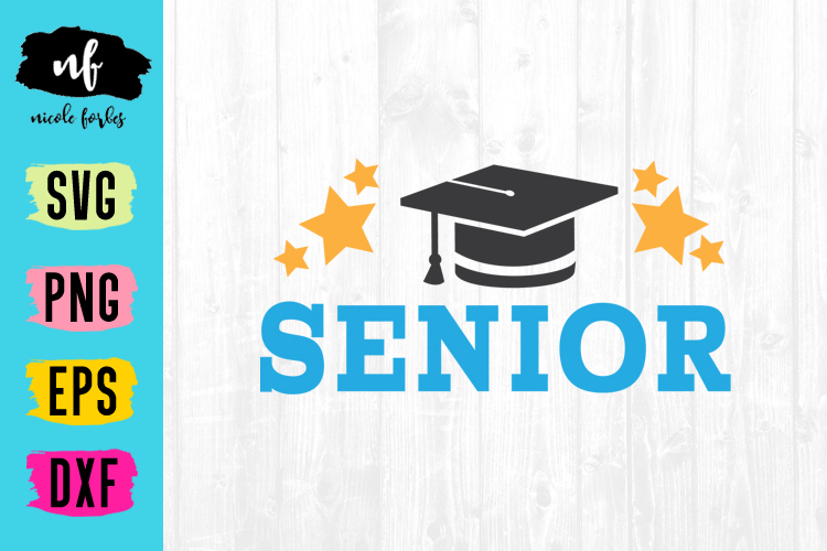 Senior 2020 Graduation SVG Bundle example image 13