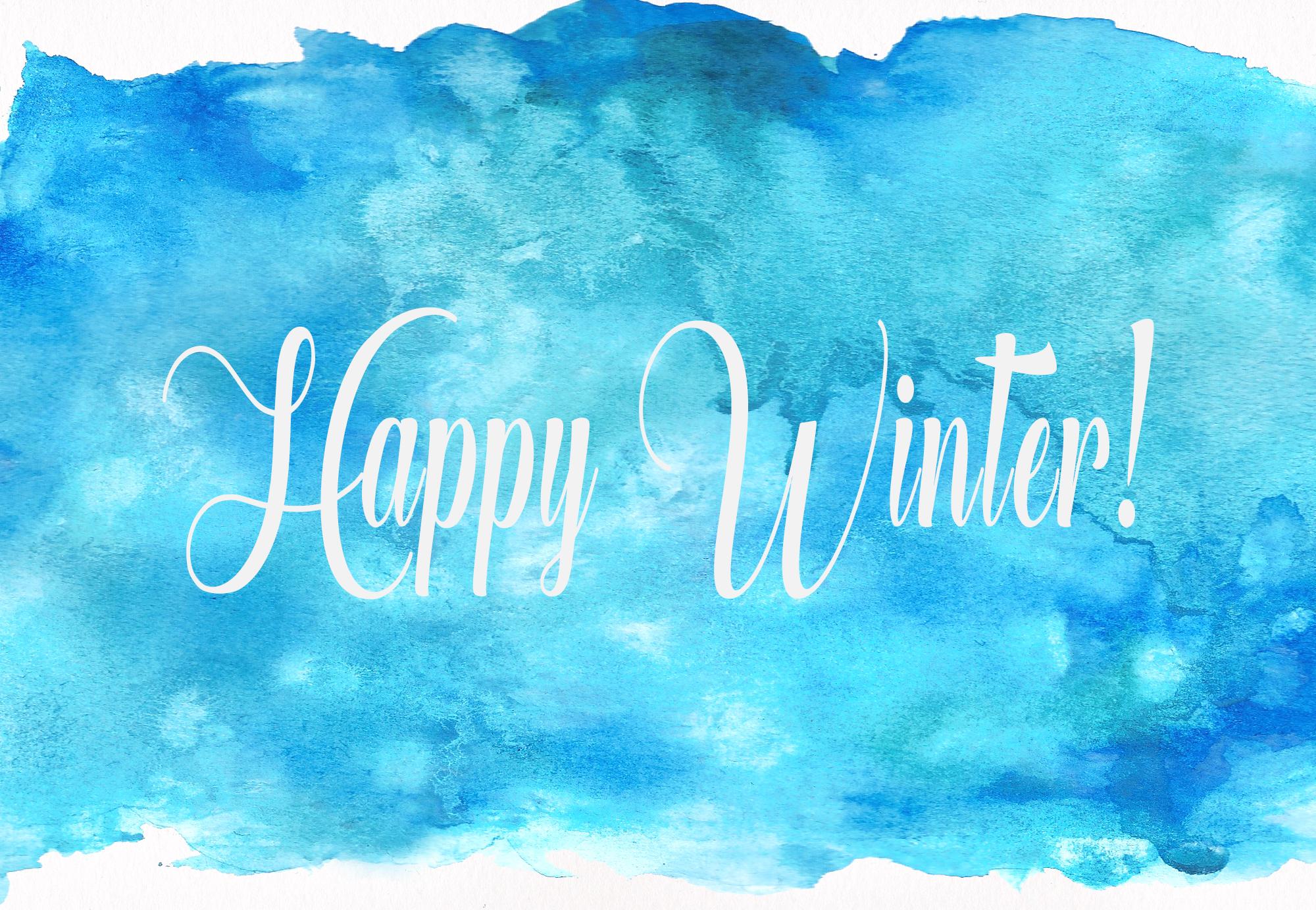 Magic Winter Watercolor Pack example image 10