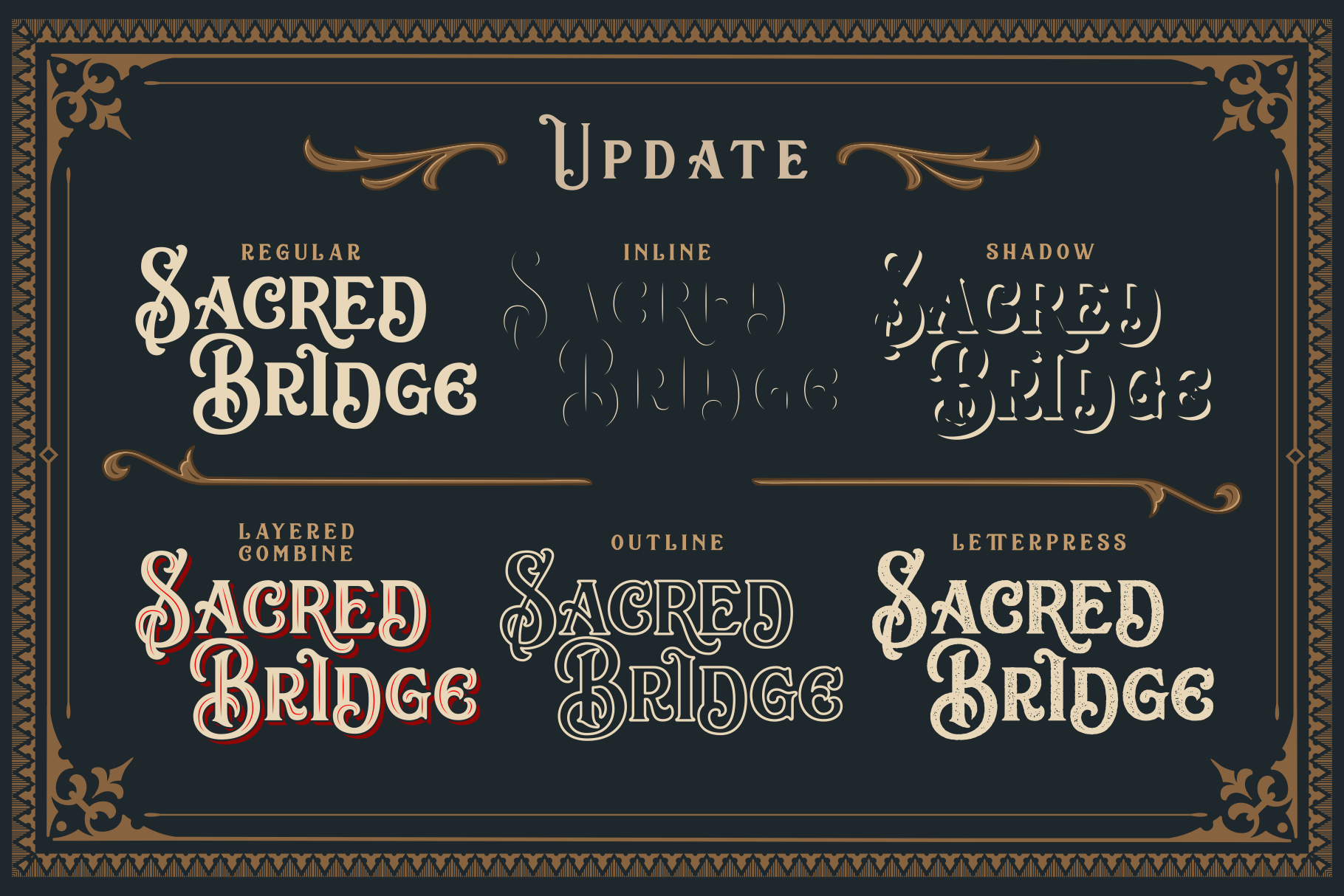 Sacred Bridge  Extras BIG UPDATE ! example image 2