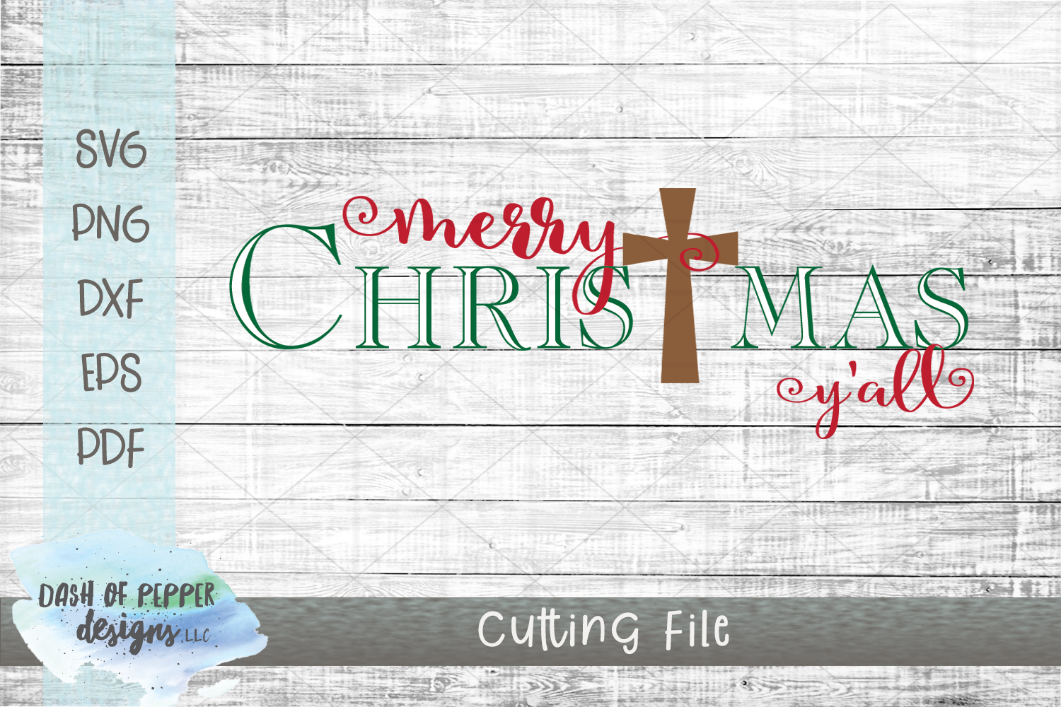 Merry Christmas Y'all SVG - A Christmas SVG example image 1