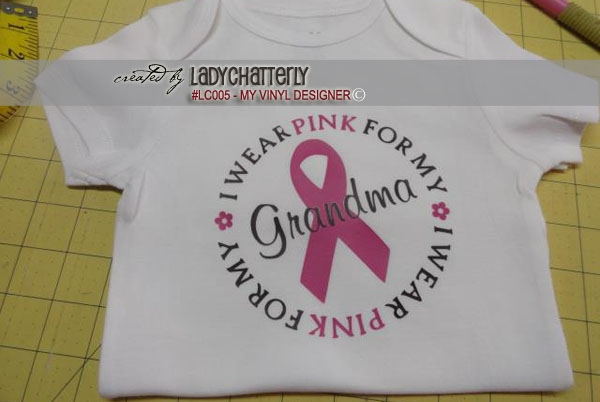 LC005 - Breast Cancer Designs example image 3