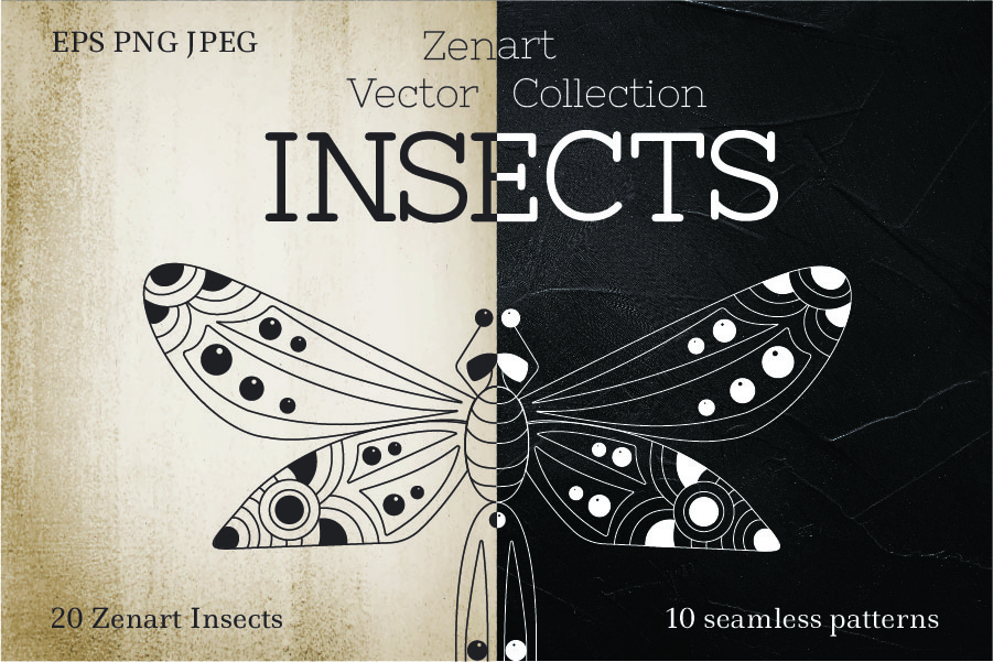 Zenart Vector Insects Collection example image 1