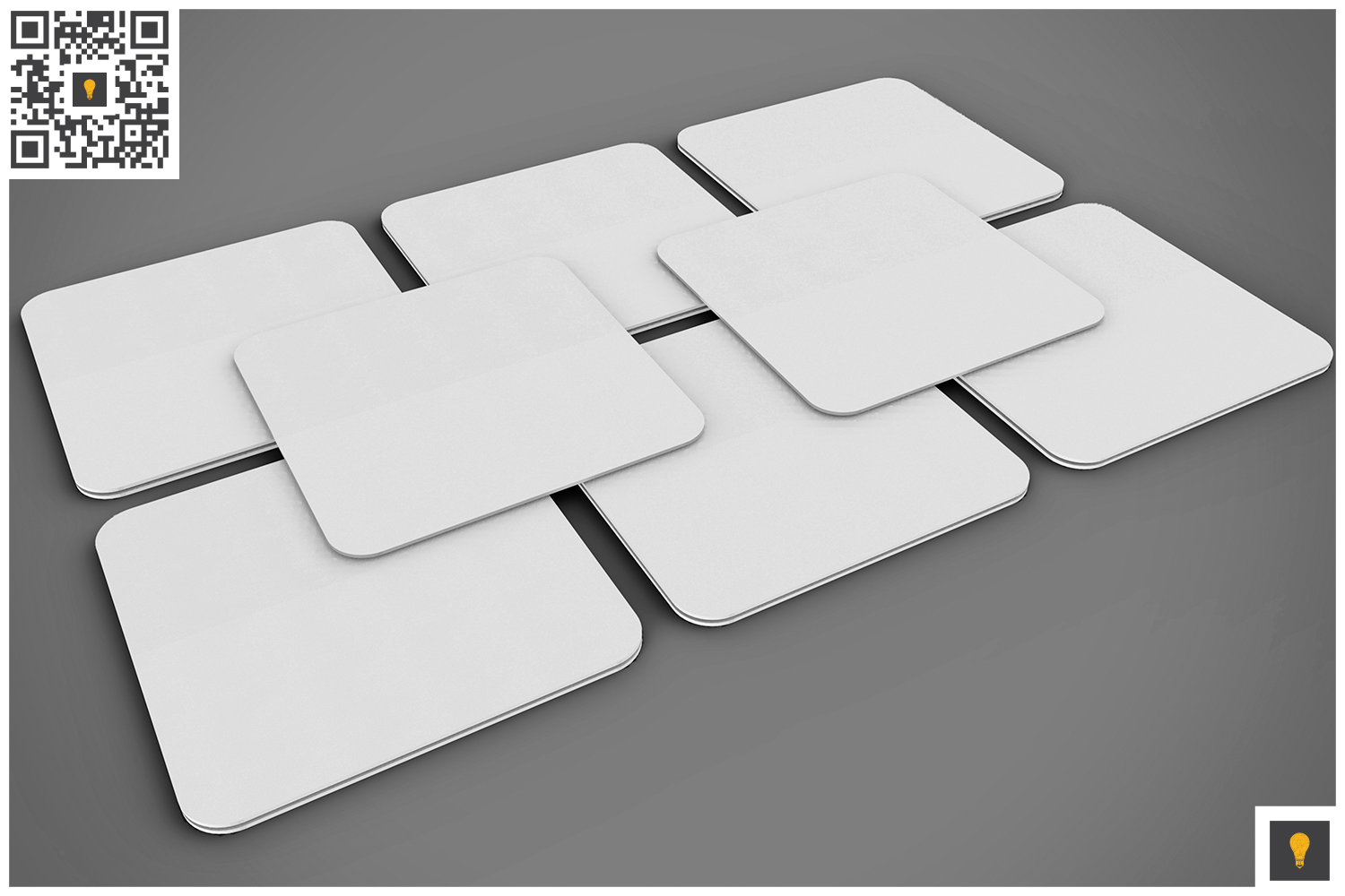 Paper Coaster 3D Render example image 8